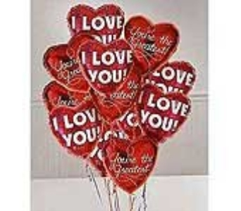I love you Balloon Bouquet in Antioch CA, Antioch Florist