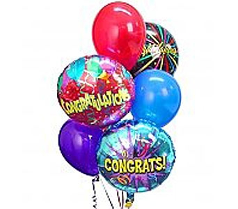 Congratulations Balloon Bouquet in Williamsburg VA, Schmidt's Flowers & Accessories