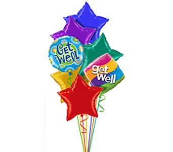Get Well Balloon Bouquet in Williamsburg VA, Schmidt's Flowers & Accessories