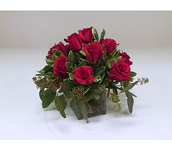 Fiery Red Roses in Indianapolis IN, Gillespie Florists