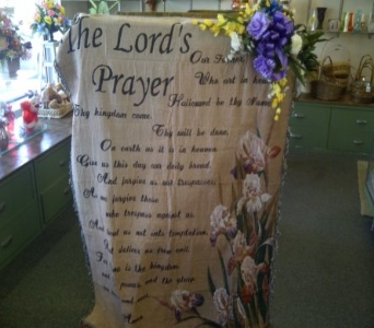 THE LORD'S PRAYER THROW in Pittsburgh PA, Frankstown Gardens