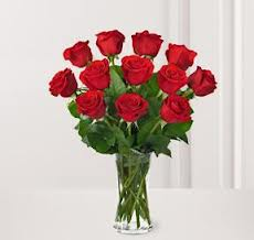One Dozen Long Stem Red Roses in Indio CA, The Flower Patch Florist