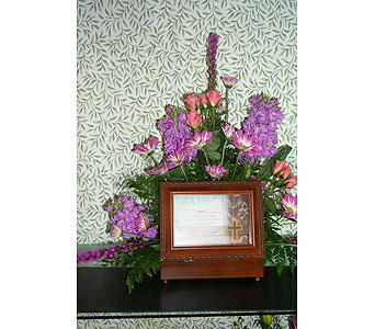 Memory Box in Noblesville IN, Adrienes Flowers & Gifts