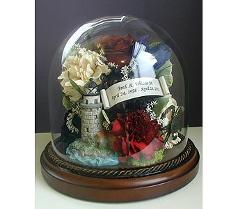 Memorial Dome in Middletown DE, Forget Me Not Florist & Flower Preservation