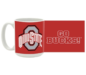 OSU Traditional Red  Mug in Columbus OH, OSUFLOWERS .COM