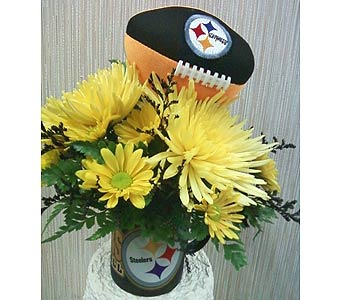 Steeler Style Bouquet in Johnstown PA, B & B Floral