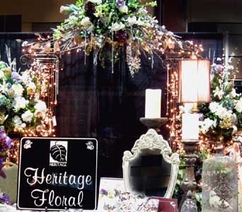 Bridal Show  Oct 16th 2011 in Kennewick WA, Heritage Home Accents & Floral