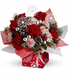 Teleflora's Snow Flurries Present Perfect in Attalla AL, Ferguson Florist, Inc.