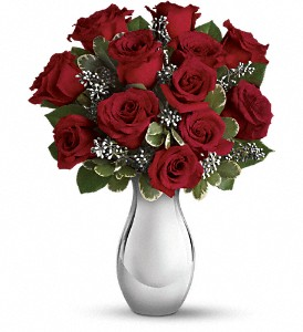 Teleflora's Winter Grace Bouquet in San Antonio TX, Pretty Petals Floral Boutique