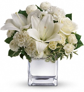 Teleflora's Peace & Joy Bouquet in flower shops MD, Flowers on Base