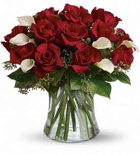 Be Still My Heart - Dozen Red Roses in Islandia NY, Gina's Enchanted Flower Shoppe