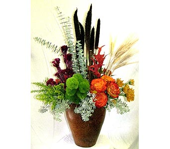 Large Fall Dispay ArrangementCall for Price in San Diego CA, The Floral Gallery