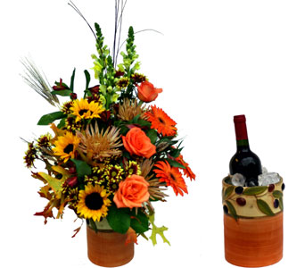 Vineyard Harvest Bouquet in Norristown PA, Plaza Flowers