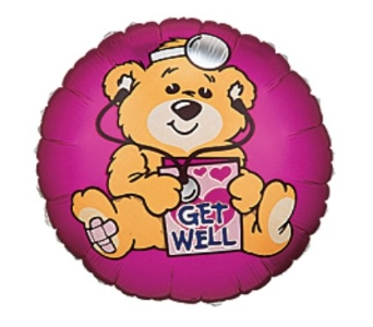Get Well Bear in New Haven CT, The Blossom Shop