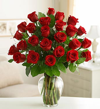 Two Dozen Roses - Choose Your Color in Bradenton FL, Ms. Scarlett's Flowers & Gifts
