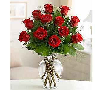 Dozen Long Stem Roses - Choose Your Color in Bradenton FL, Ms. Scarlett's Flowers & Gifts