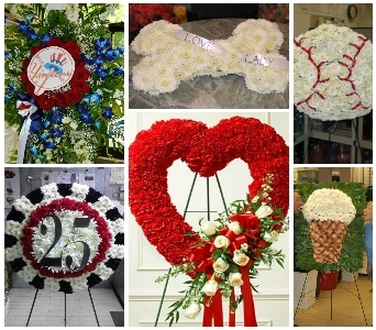 Custom Sympathy Piece in Princeton, Plainsboro, & Trenton NJ, Monday Morning Flower and Balloon Co.