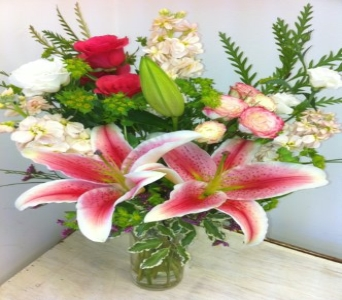 Think Pink in Ridgefield CT, Rodier Flowers