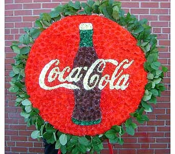 COCA-COLA SYMBOL in Brooklyn NY, David Shannon Florist & Nursery