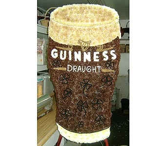 GLASS OF GUINNESS in Brooklyn NY, David Shannon Florist & Nursery