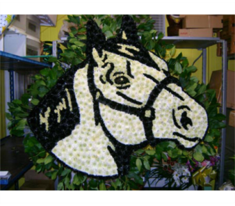 HORSES HEAD in Brooklyn NY, David Shannon Florist & Nursery