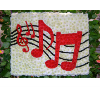 MUSICAL NOTES in Brooklyn NY, David Shannon Florist & Nursery