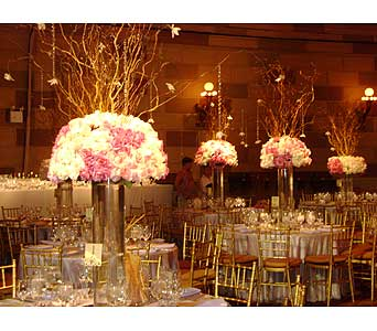 Wedding in Brooklyn NY, David Shannon Florist & Nursery