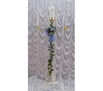 Brass Unity Candelabra in Grand Island NE, Roses For You!