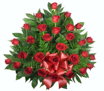 Rose Mache: 30 Roses in Indianapolis IN, Berkshire Florist