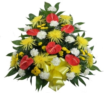 Tropical Basket  in Indianapolis IN, Berkshire Florist
