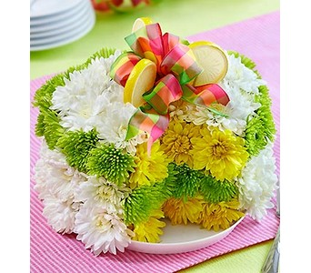 Fresh Flower Cake� - Lemon  in Concord CA, Jory's Flowers
