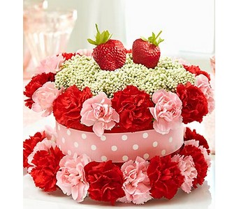 Fresh Flower Cake� Strawberry Shortcake  in Concord CA, Jory's Flowers