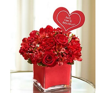 Red, Hot & Fabulous�  in Concord CA, Jory's Flowers