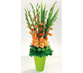 Orange Gladioulus in San Antonio TX, Blooming Creations Florist