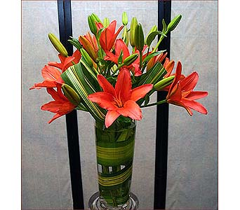 Orange Lilies in San Antonio TX, Blooming Creations Florist