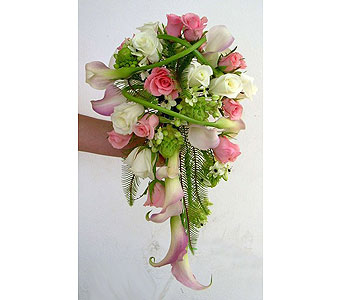 Wedding Party Bridal Bouquet By Blooming Creations Florist