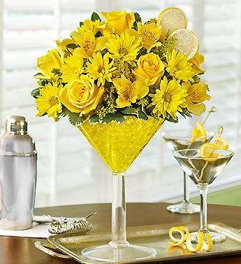 LEMON MARTINI in Mooresville NC, All Occasions Florist & Boutique