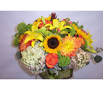 September Sunshine in New York NY, Fellan Florists Floral Galleria