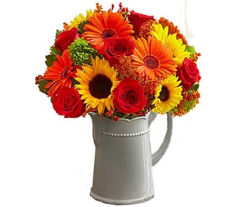 Harvest Spice Bouquet in Santa Monica CA, Edelweiss Flower Boutique
