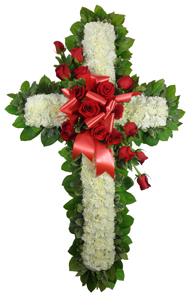 Signature Collection Carnation Cross with Rose Swa in Clarks Summit PA, McCarthy-White's Flowers