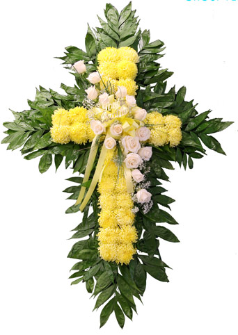 Sunshine Sentiments Football Mum Cross in Clarks Summit PA, McCarthy-White's Flowers