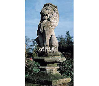 Lion Finial in Birmingham MI, Tiffany Florist