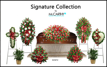 Sympathy Collection Set 2 in Scranton PA, McCarthy Flower Shop<br>of Scranton