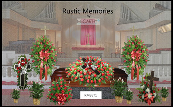 Rustic Memories Set  in Scranton PA, McCarthy Flower Shop<br>of Scranton