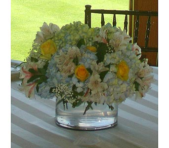 Short Cylinder in Manhasset NY, Town & Country Flowers
