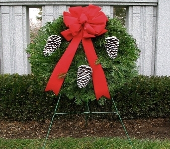 Wreath Tribute (Metro-Detriot Area Only) in Southfield MI, Thrifty Florist