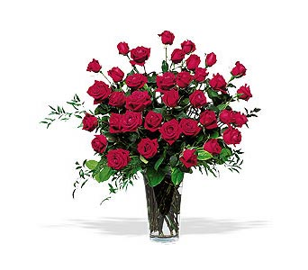 Three Dozen Roses in Santa Clara CA, Citti's Florists