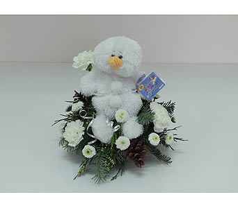 Webkinz Snowman in Indianapolis IN, Gillespie Florists