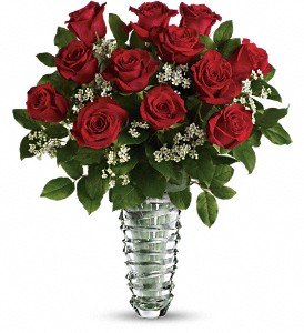 Teleflora's Beautiful Bouquet - Long Stemmed Roses in Lake Worth FL, Flower Jungle of Lake Worth