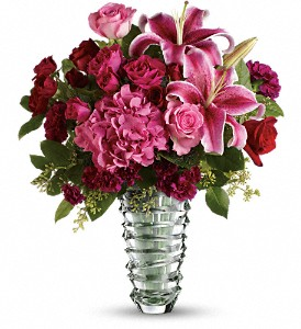 Teleflora's Swept Away - Long Stemmed Roses in Eugene OR, Rhythm & Blooms